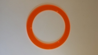 "Orange Fluorescent Ring - Turner ""No-Pest"" Light Covers"