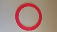 "Red Fluorescent Ring - Turner ""No-Pest"" Light Covers"